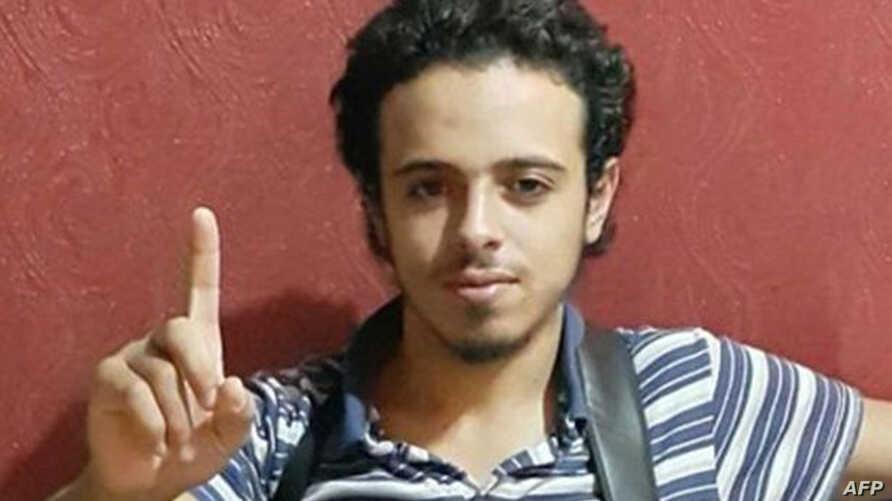 This undated and unlocated image shows French national Bilal Hadfi, 20, one of the suicide bombers who blew himself outside the Stade de France stadium during the Paris attacks on November 13.