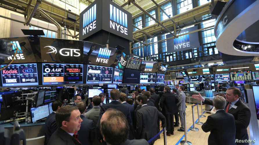 A general view of the New York Stock Exchange (NYSE) in Manhattan, New York City, U.S., Jan. 19, 2017.