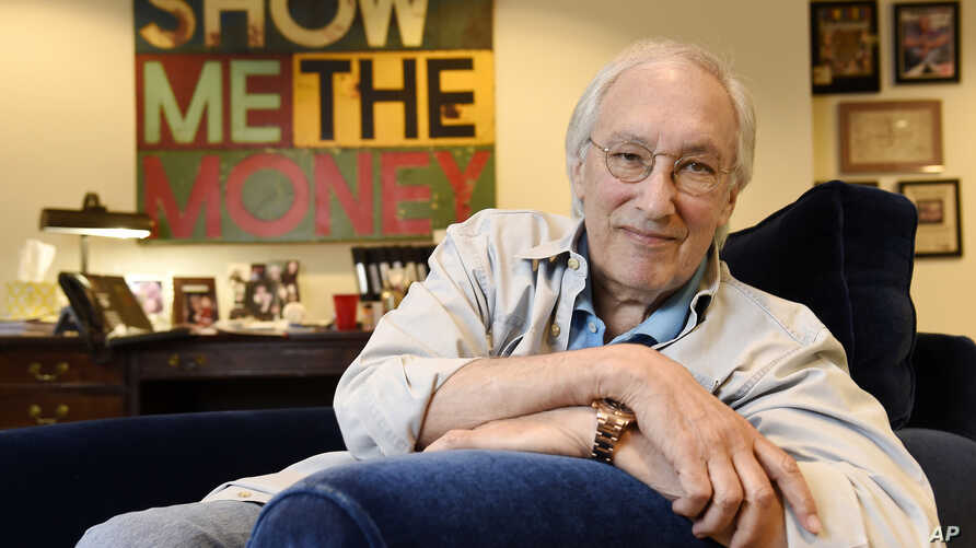 """FILE - In this Aug. 17, 2016, file photo, television writer/producer Steven Bochco poses for a portrait at his office in Santa Monica, Calif. Bochco, a writer and producer known for creating """"Hill Street Blues,"""" has died. He was 74."""