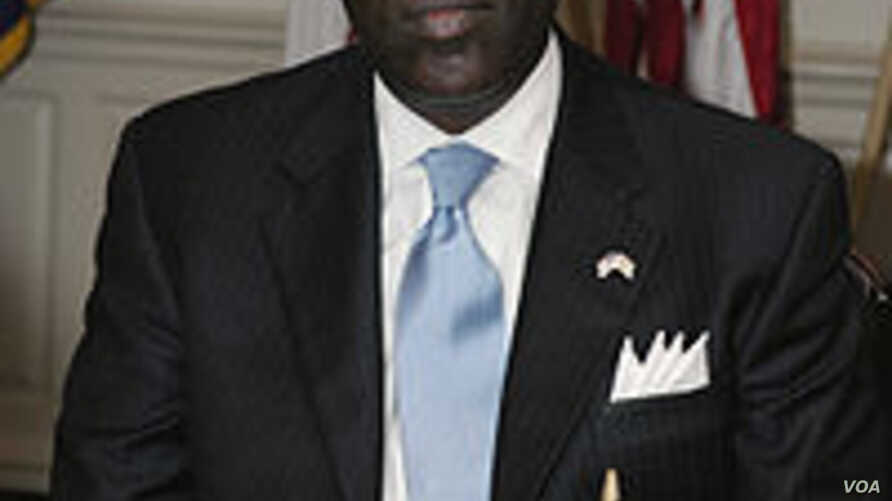 Former interim leader Gyude Bryant of Liberia