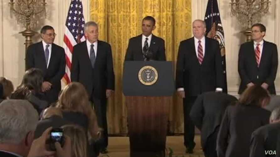 Obama Security Team Faces New Challenges, New Priorities