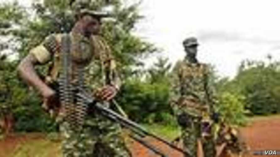 Lord's Resistance Army (LRA) rebels