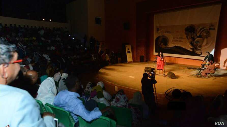 Audiences attended several days of international films presented at the Khartoum event. (Courtesy XXXX)