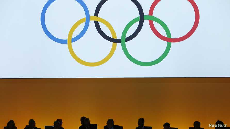 International Olympic Committee (IOC) delegates are seen during the IOC extraordinary session in Lausanne, Switzerland, July 11, 2017.