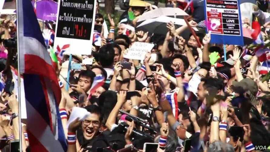 Thailand Protesters Continue Bid to Oust Government
