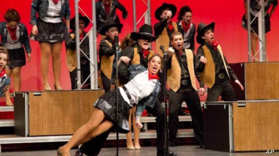 'Touch of Class' competes in the Central Virginia Show Choir Invitational in Richmond on March 5, 2011.
