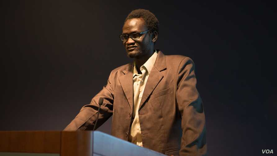 South Sudanese scholar Makwei Deng. Photo by William Atkins / The George Washington University.