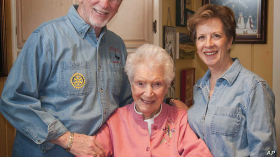 David Fowler and his wife, Gloria, receive $1,000 a month to care for his mother, Mary Ruth, 94, a retired teacher.