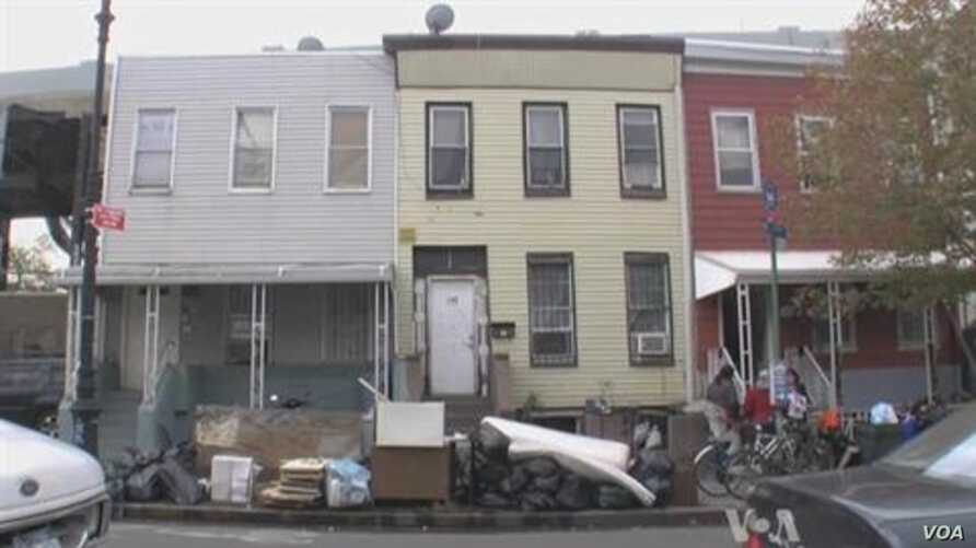 NYC Storm Aftermath, Ruins and Devastation for one Family