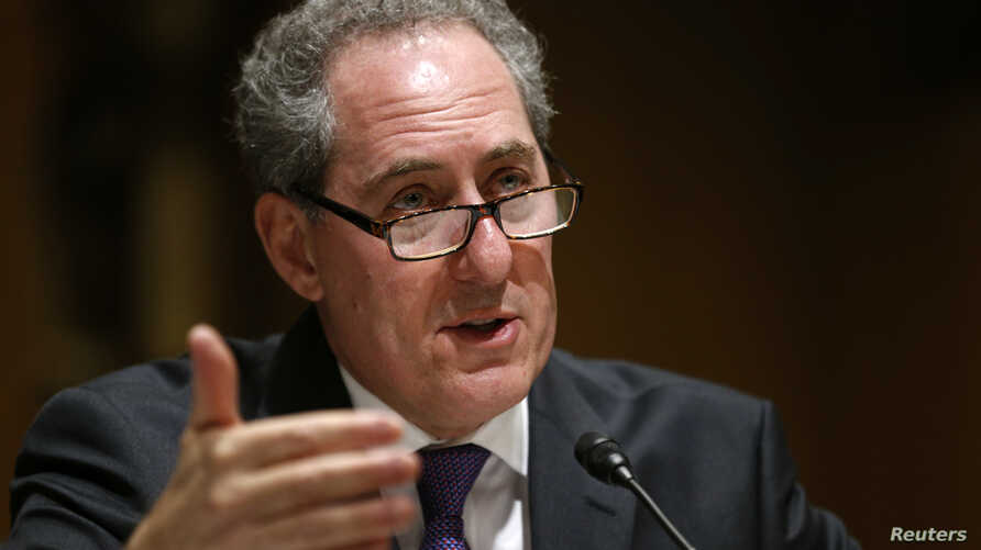 U.S. Trade Representative Michael Froman, shown testifying before a Senate committee last month, says Froman says the Chinese textile, clothing, metal, chemical, medical product, building material and agricultural industries have benefited from illeg...