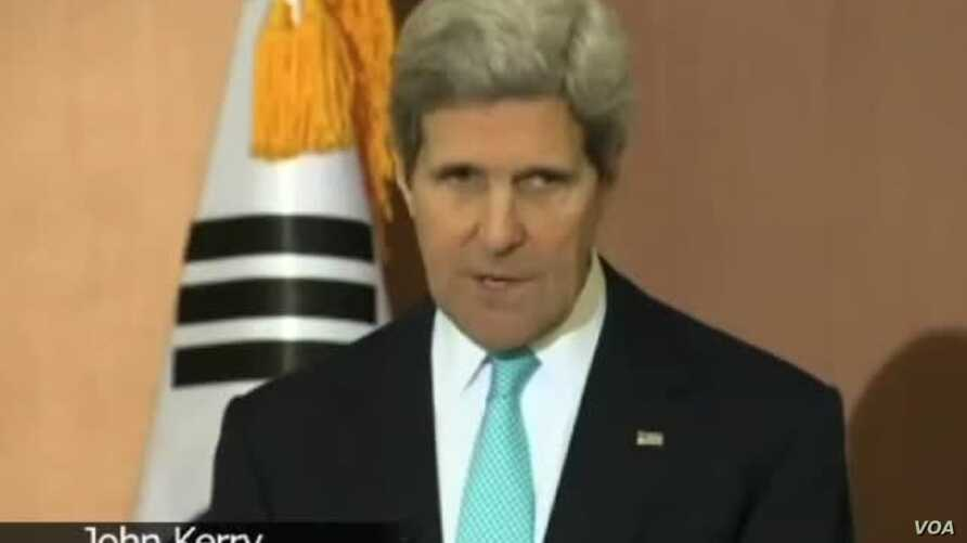 China Can Do More on North Korea, Kerry Says