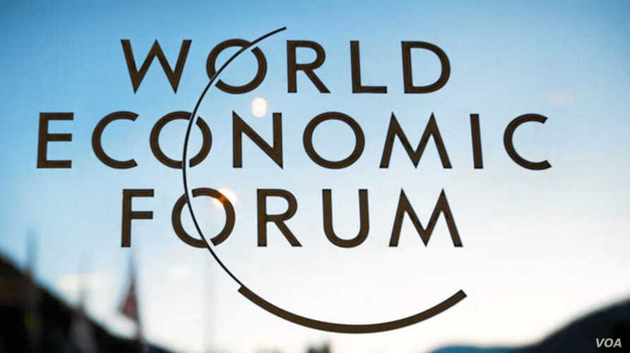 A screenshot from weforum.org shows an image promoting the World Economic Forum in Kigali, Rwanda. Leaders from ten African countries and 1,500 delegates expected to attend the May 11-13 meeting.