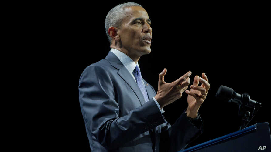 President Barack Obama speaks at the White House Summit on the United State of Woman, in Washington, June 14, 2016.