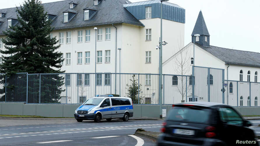 The Consulate General of the United States of America is pictured in Frankfurt, Germany, March 8, 2017.
