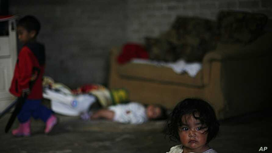 Report shows biggest wealth gaps in Chile and Mexico, where richest make 25 times more than poorest. A child at home in low-income neighborhood of Mexico City, July 29, 2011.