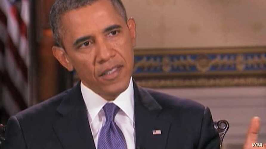 Obama: Syria Could Prevent Airstrikes by Turning Over Chemical Weapons