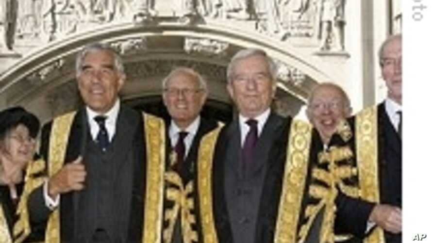 Britain's New Supreme Court Opens, Separating Judiciary From Legislature
