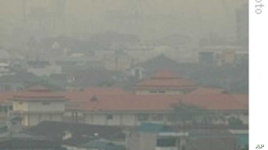 Fires Spread Thick Haze Across Much of Southeast Asia