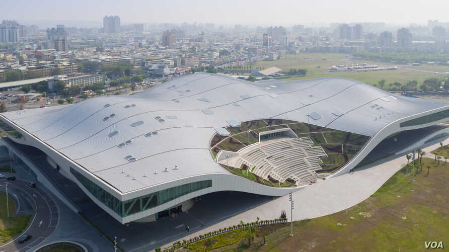 National Kaohsiung Center for the Arts in Kaohsiung, Taiwan