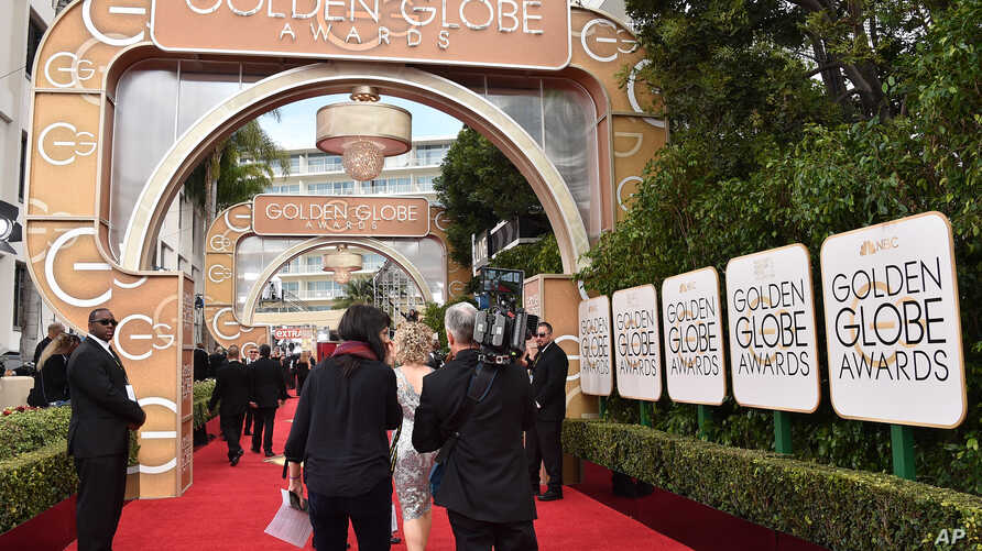 The red carpet is seen at the 73rd annual Golden Globe Awards on Jan. 10, 2016, at the Beverly Hilton Hotel in Beverly Hills, Calif.
