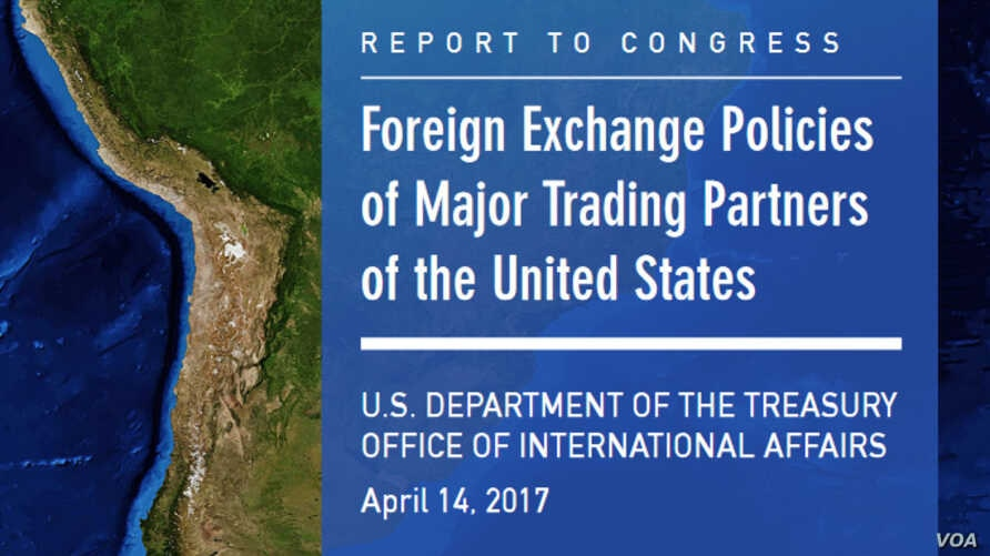 Foreign Exchange Polices of Major Trading Partners of the United States