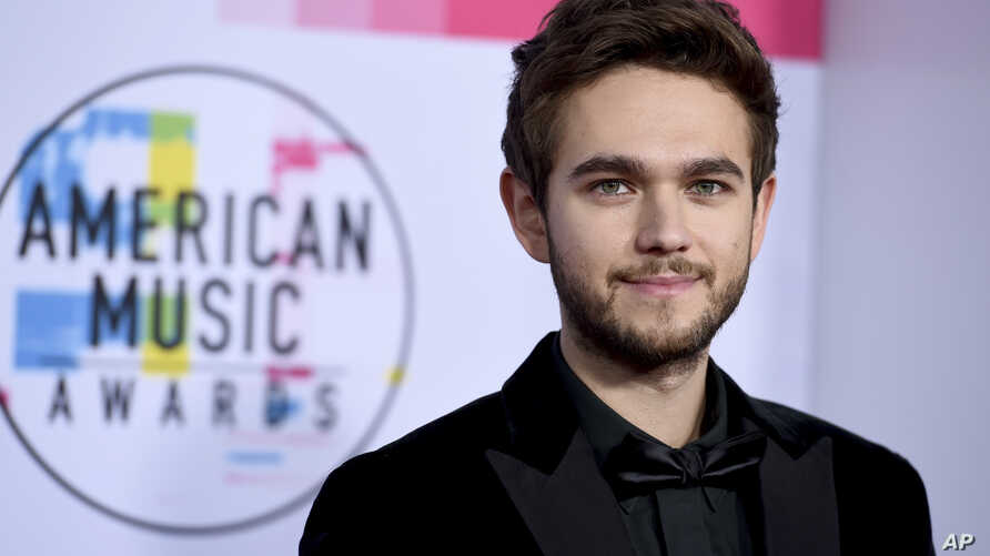 FILE - Zedd arrives at the American Music Awards at the Microsoft Theater.