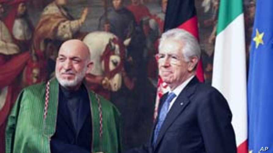 Italy Signs Deal to Provide Long-Term Aid to Afghanistan
