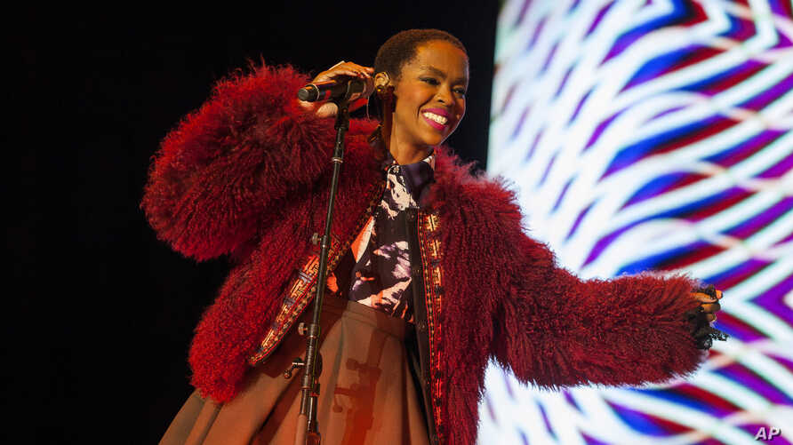 FILE -  Lauryn Hill performs at the Voodoo Music Experience in New Orleans.