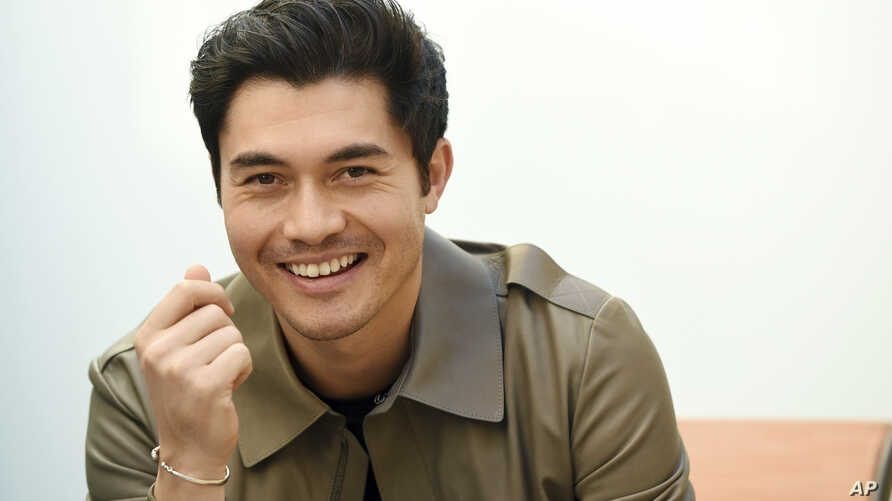 """Actor Henry Golding is pictured at the Orlando Hotel in Los Angeles, Nov. 9, 2018. Golding, who starred in the hit film, """"Crazy Rich Asians,"""" was named as one of 2018's Breakthrough Entertainers of the Year by the Associated Press."""