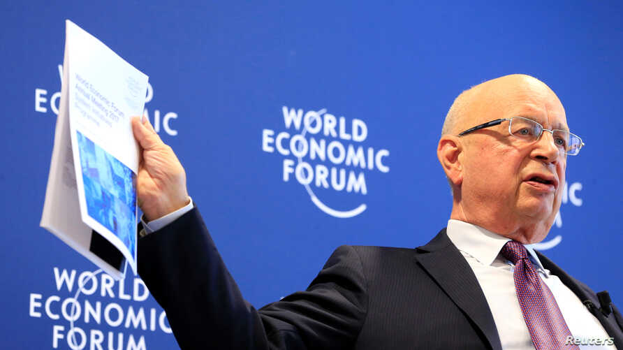 World Economic Forum (WEF) Executive Chairman and founder Klaus Schwab attends a news conference in Cologny, near Geneva, Switzerland, Jan. 10, 2017.
