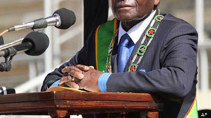 Zimbabwe President Wants to End Power-Sharing Agreement