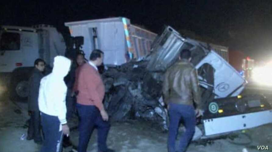 Egypt Train Crash Kills 24
