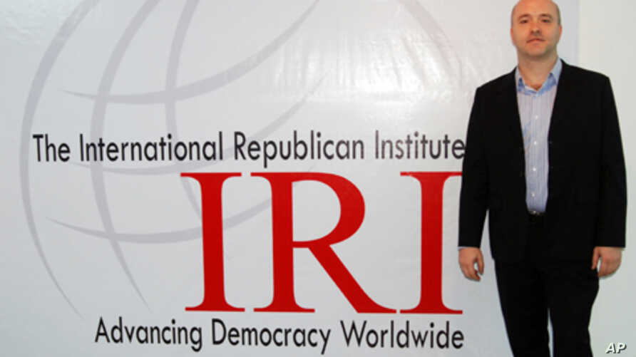 IRI's Cambodia country director John Willis, who says a new survey shows around three-quarters of Cambodians are satisfied with the direction the country is taking