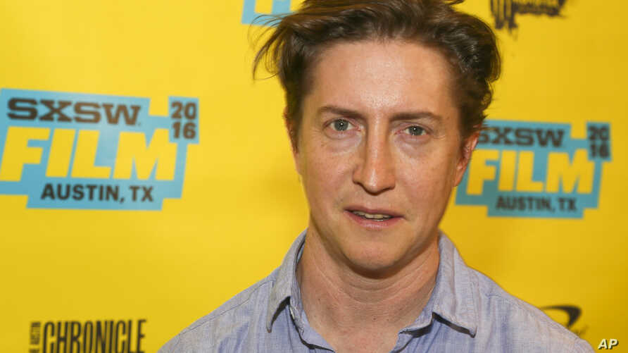 """FILE - David Gordon Green, pictured at the South by Southwest Film Festival in Austin, Texas, March 11, 2016, will have the world premiere of his film """"Stronger"""" at the Toronto International Film Festival in September."""
