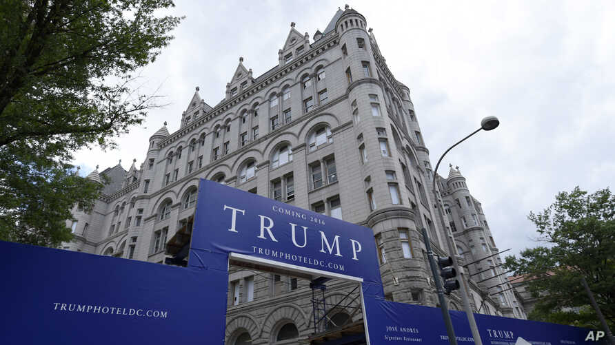 The new Trump hotel in Washington, D.C.