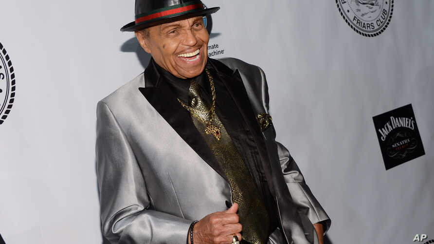 FILE - Joe Jackson attends The Friars Foundation Gala honoring Robert De Niro and Carlos Slim at The Waldorf-Astoria Hotel on Tuesday, Oct. 7, 2014, in New York.