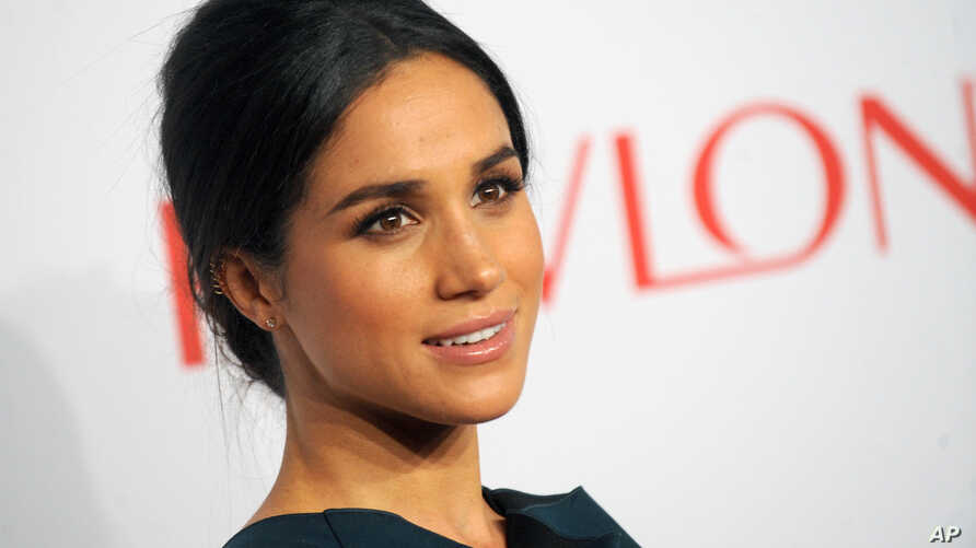 Meghan Markle at The Elton John Gala at Cipriani Wall Street in New York City, Oct. 28, 2014.