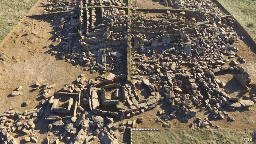 Ancient Mausoleum discovered in Kazakhstan
