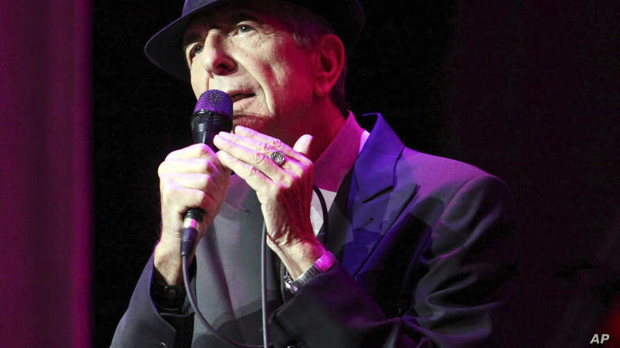 Leonard Cohen performs at The Fabulous Fox Theatre in Atlanta, March 22, 2013. Cohen, the gravelly-voiced Canadian singer-songwriter died Thursday, November 10, 2016, at age 82.