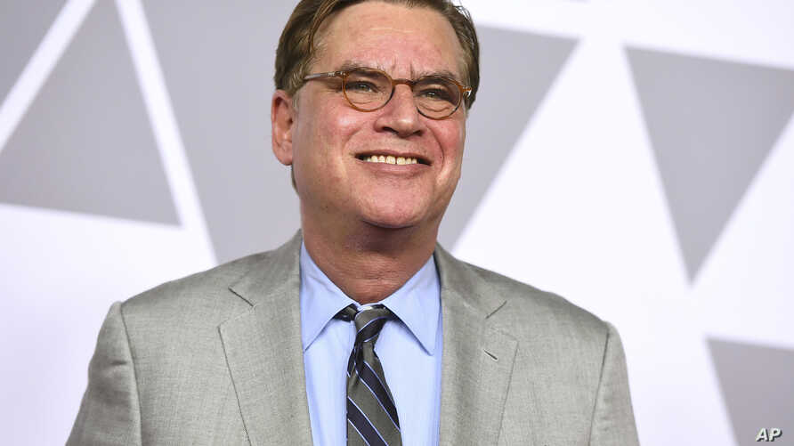 "FILE - Aaron Sorkin arrives at the 90th Academy Awards Nominees Luncheon in Beverly Hills, Calif., Feb. 5, 2018. The estate of ""To Kill a Mockingbird"" author Harper Lee has filed suit over an upcoming Broadway adaptation of the novel set to open in D"