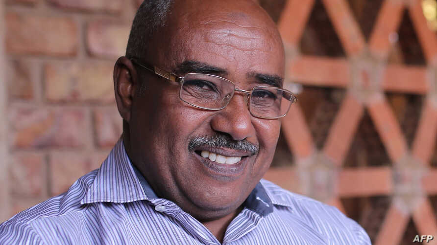 Abdelmoneim Abu Idris Ali, a 51-year-old who has worked for Agence France-Presse in Sudan for nearly a decade, is shown in the Sudanese capital Khartoum, Jan. 3, 2016. The AFP reporter, as well as a Reuters journalist, were released Jan. 22, 2018, af