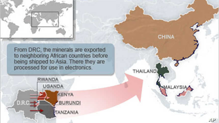 Tracing DRC's Conflict Minerals a Daunting Task