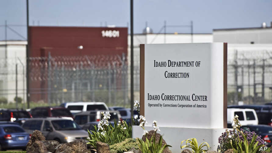 The Idaho Correctional Center is shown south of Boise, Idaho, operated by Corrections Corporation of America, June 15, 2010.