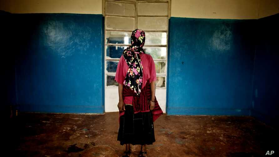 A victim of a mass rape campaign in the town of Fizi, Democratic Republic of Congo on Sunday, Feb. 20, 2011 in Fizi, Congo. She was among nearly 50 women who were raped by Congolese soldiers on January 1, 2011.