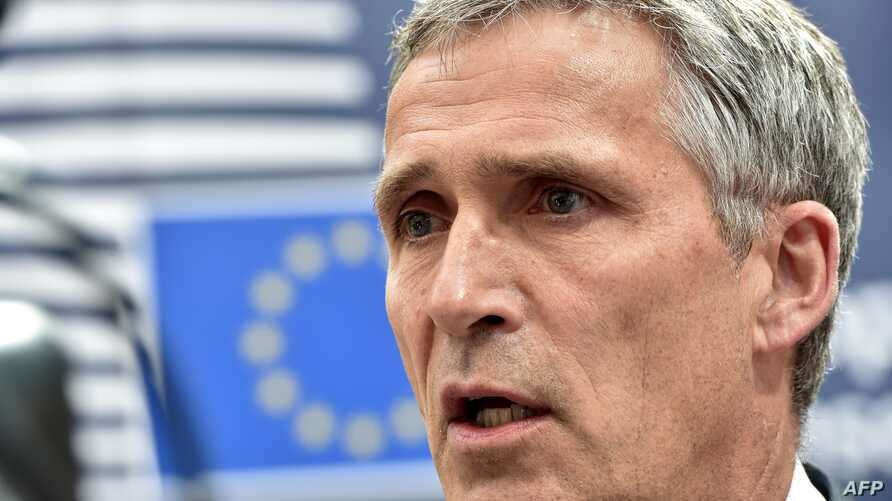 NATO Secretary General Jens Stoltenberg arrives before an EU summit meeting on June 28, 2016 at the European Union headquarters in Brussels.