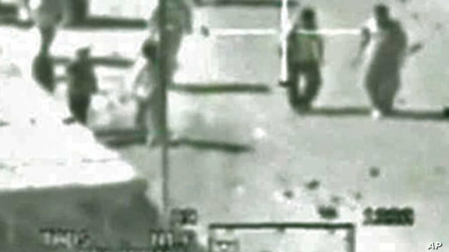 Apache helicopter's gun video showing the Reuters news photographer and his driver, among other men