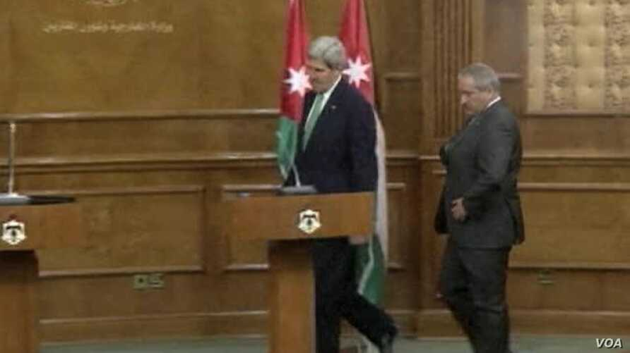Kerry: 'Alternative to Peace in Mideast is Chaos'