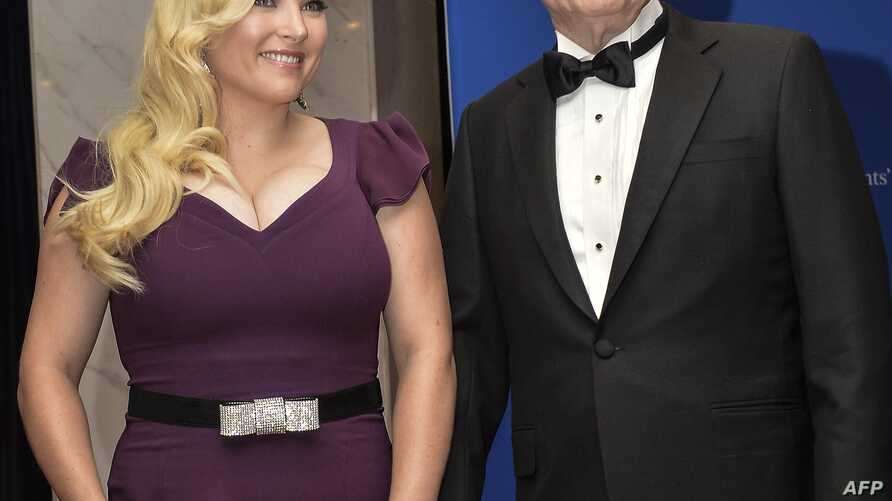 FILE - U.S. Sen. John McCain and his daughter, Meghan McCain, arrive at the White House Correspondents' Association annual dinner in Washington, May 3, 2014.