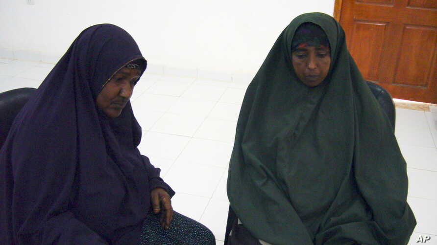 Asha, left, and Muna during an interview conducted at a U.N. compound in Somali town of Galkayo, Dec. 2, 2010. Aid workers in Somalia say they are seeing an alarming number of rapes in refugee camps.