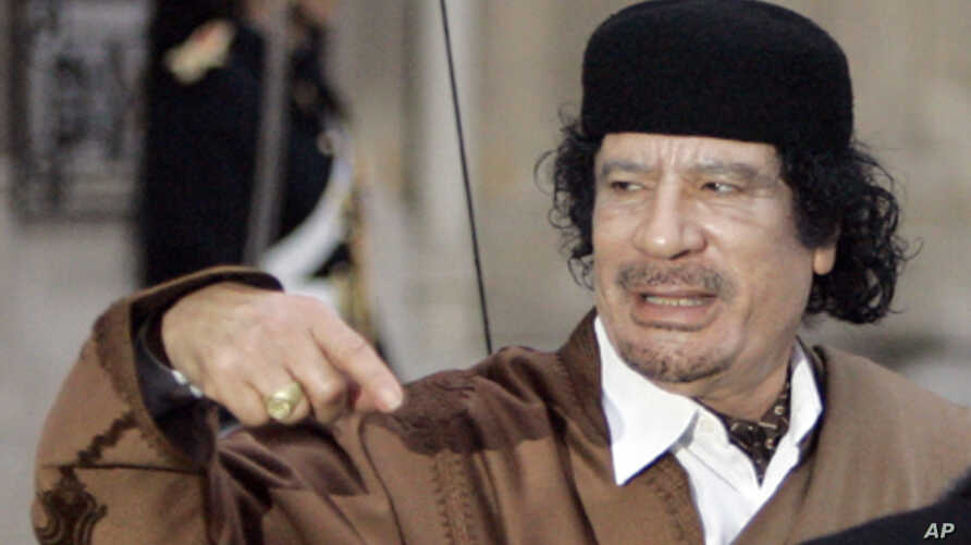 Allies Vow to Push Libya Campaign Until Gadhafi Goes
